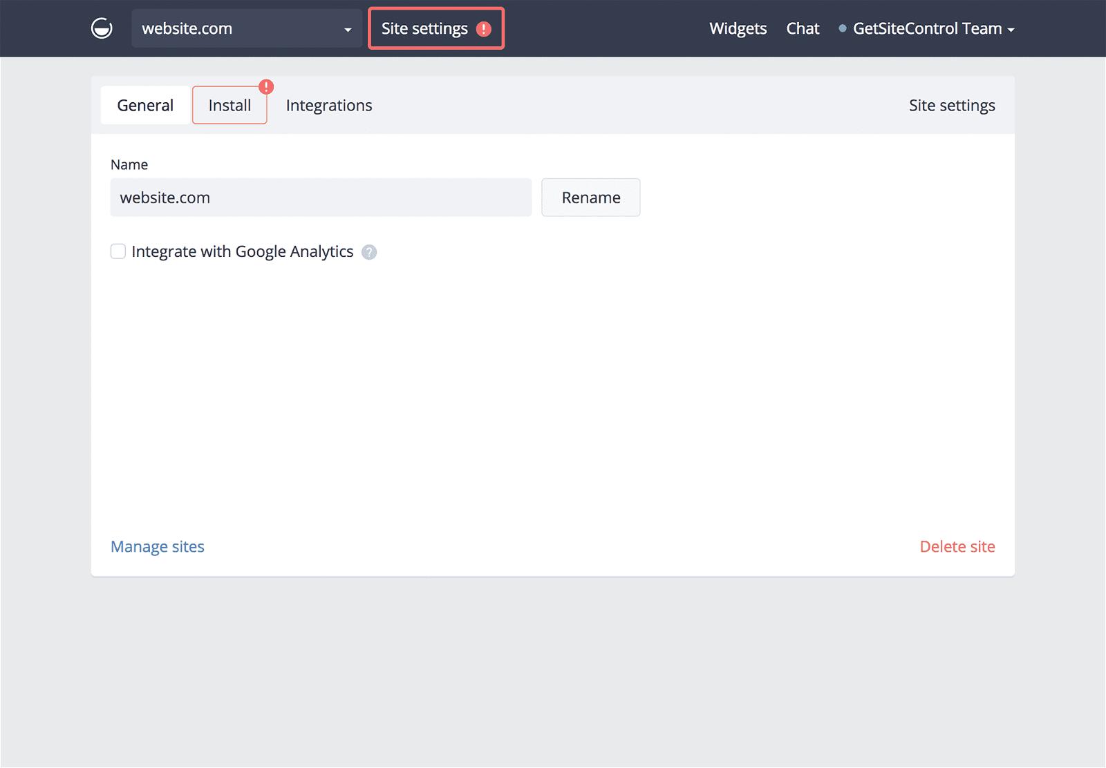 How to install widgets on Squarespace | GetSiteControl