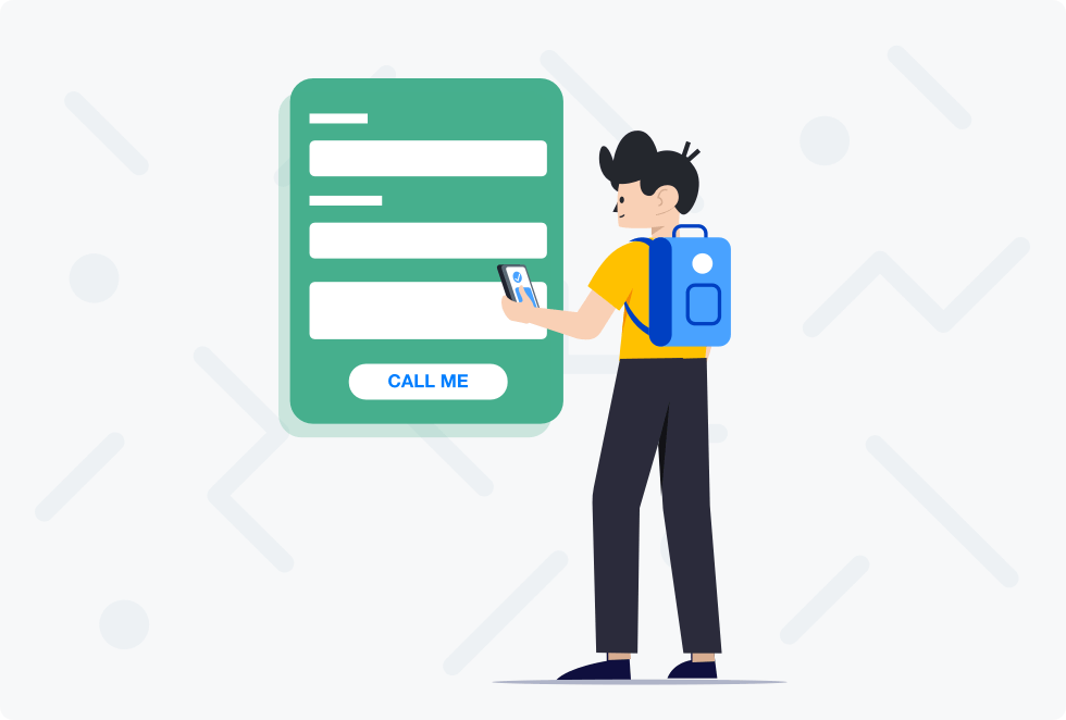 Provide visitors with an option to request a callback from your website