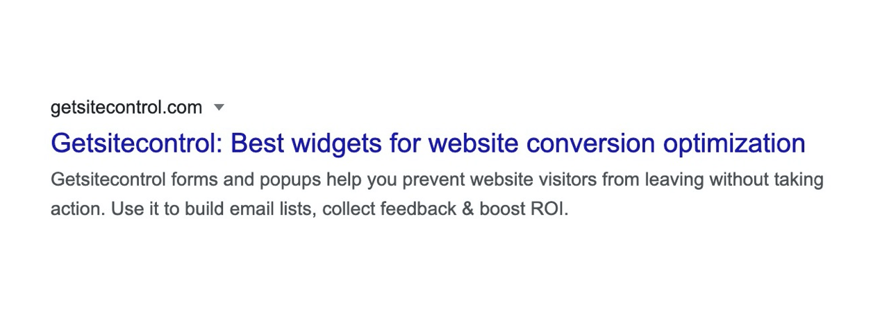 Writing relevant and natural-looking meta descriptions is crucial for organic CTR