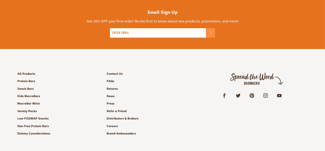 GoMarco uses discount-focused email signup forms to attract new email subscribers for their store