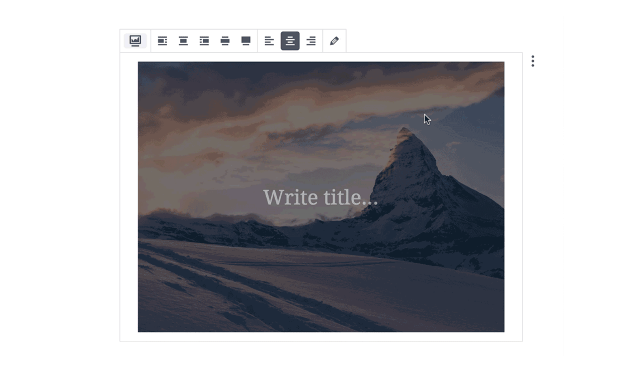 New WordPress editor makes is easy to create any website