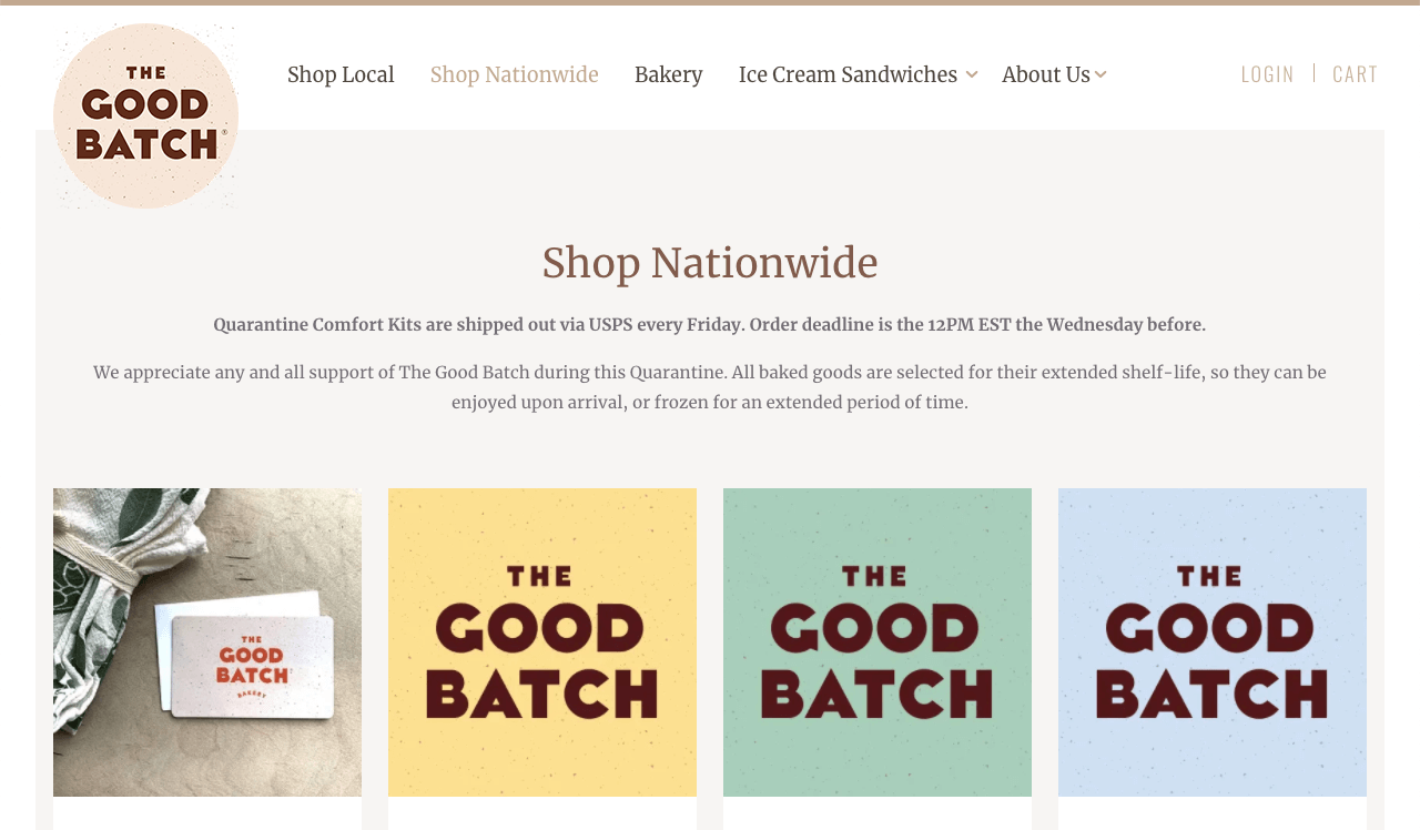 The Good Batch is a Brooklyn bakery selling on WordPress