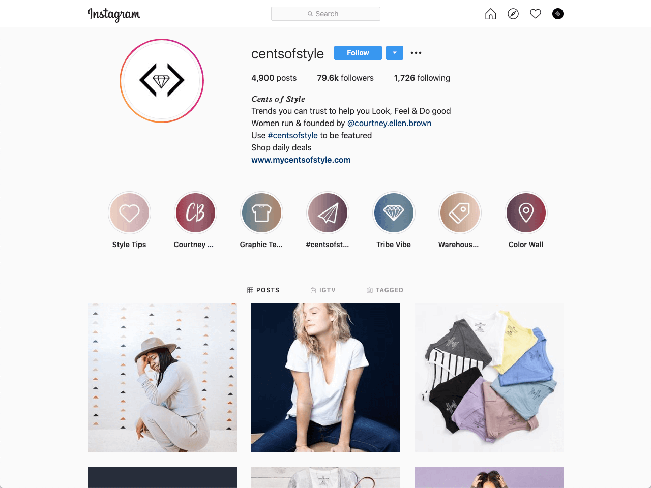 An informative bio helps you sell products on Instagram