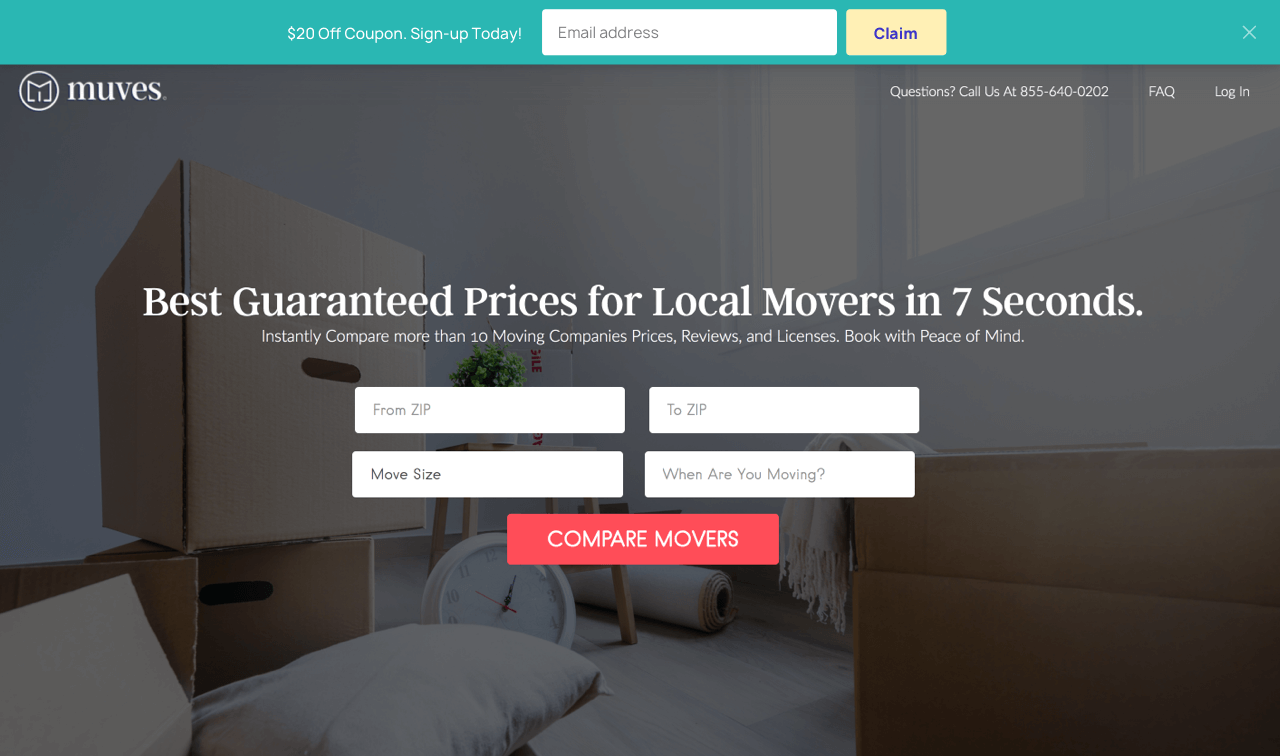 Floating opt-in bar used to increase ecommerce sales fast