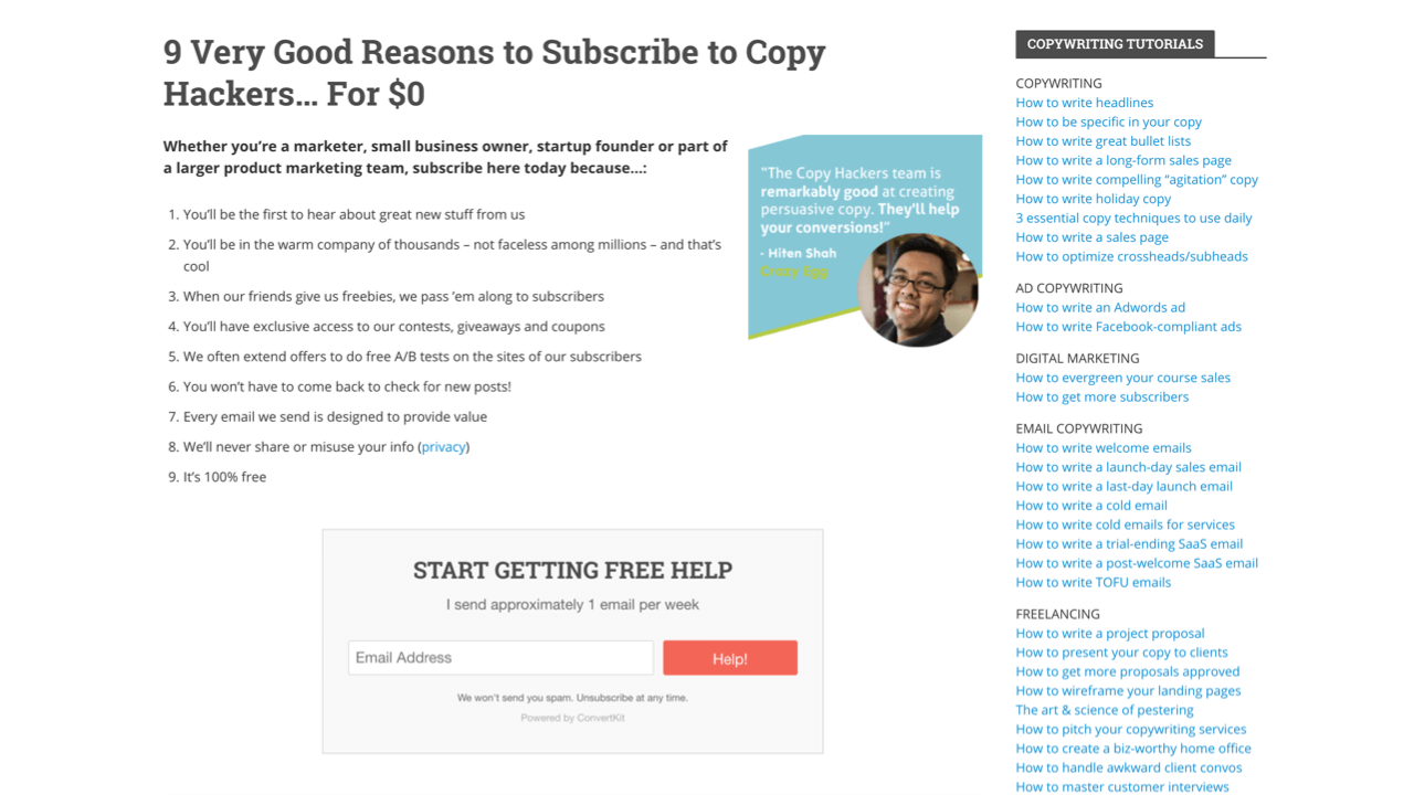7 Email Newsletter Signup Forms That Convert