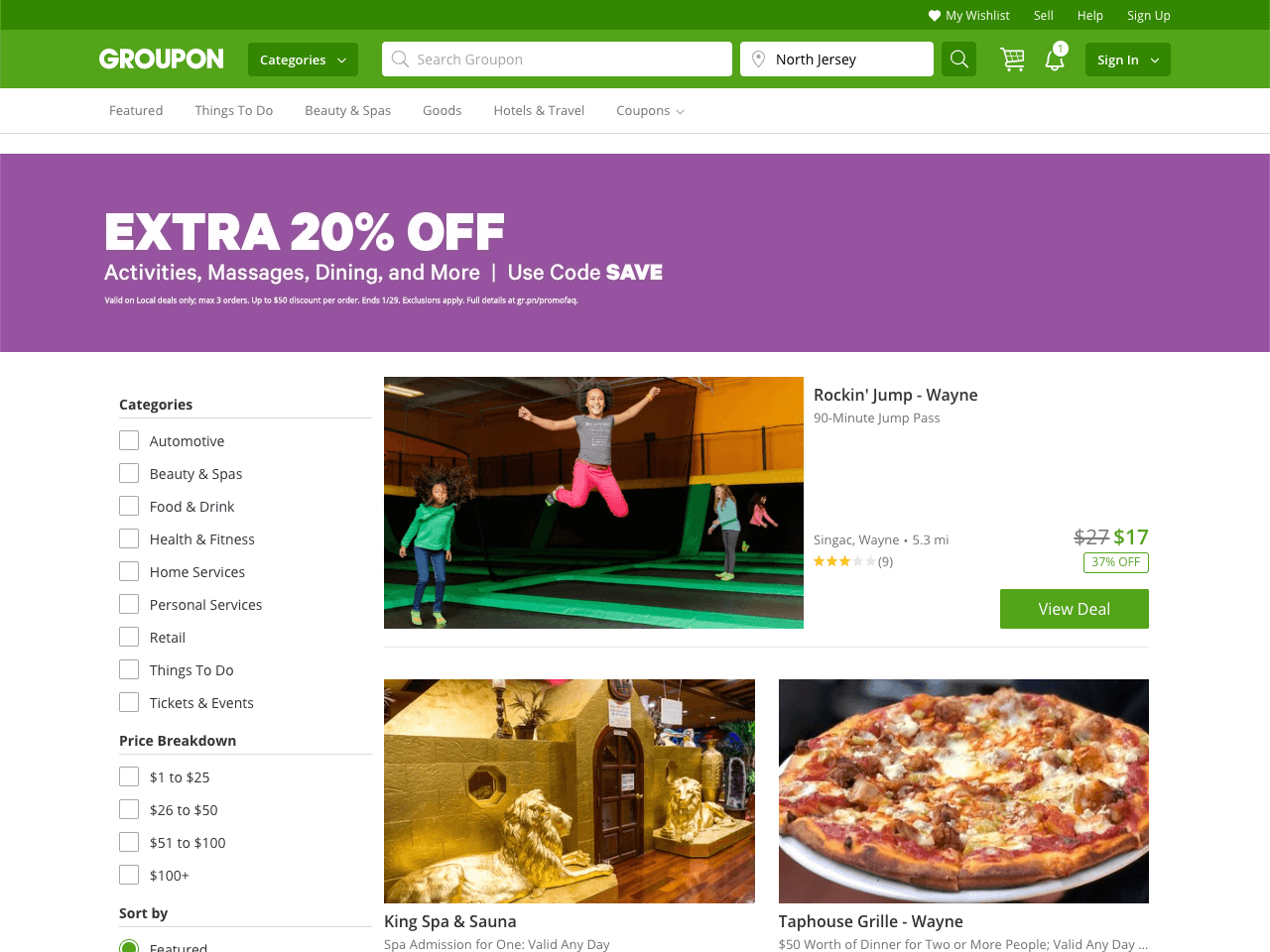 iHerb draws visitors' attention to its flash sale coupled with other offers