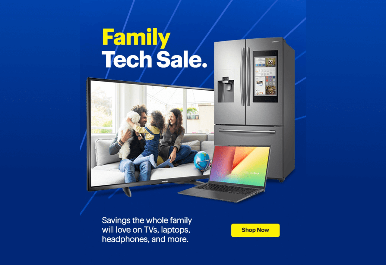 Interest-based email segmentation example by Best Buy