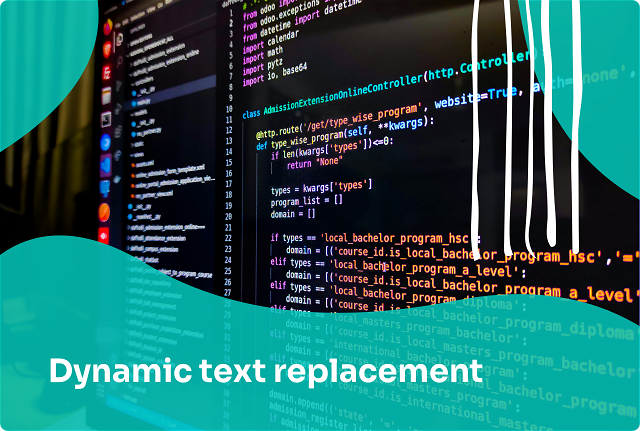 Personalize Your Popups with Dynamic Text Replacement