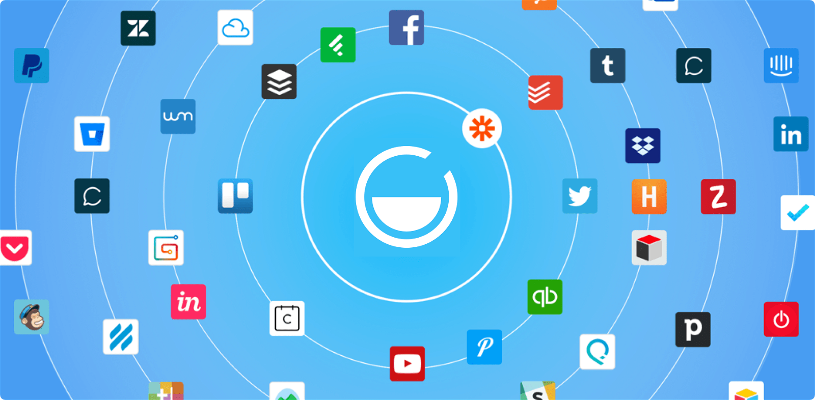 Getsitecontrol now integrates with 1,000 other apps via Zapier!