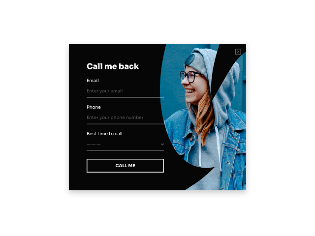 Add a callback request form to your website