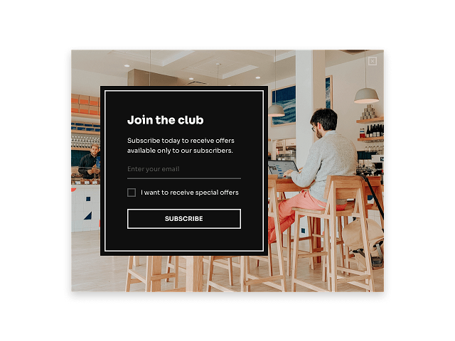 Subscriber-only deals are a great incentive for opt-in forms in your Shopify blog