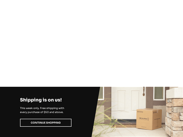 Limited-time free shipping campaign template