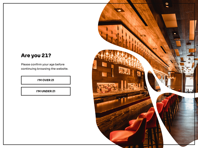 Add an age verification popup to your website