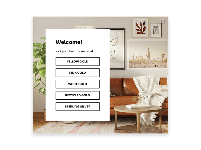 How to create a Shopify product filter popup