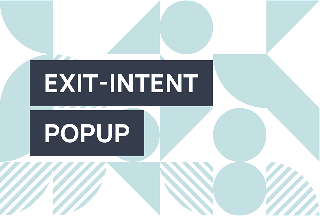 Use website exit popups to stop losing conversions