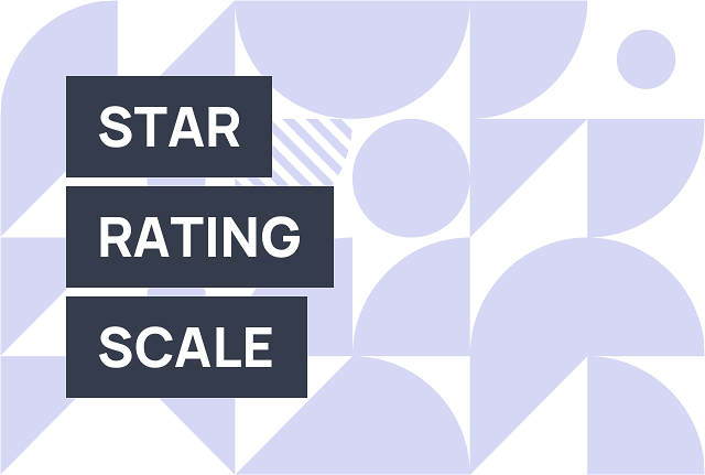 Use a star rating widget to let website visitors evaluate your business