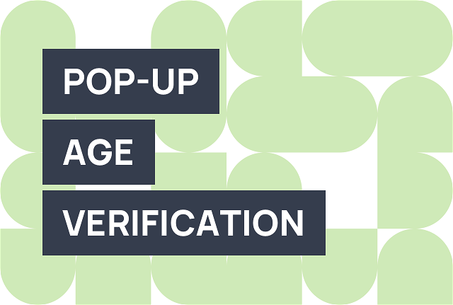 How to create an age verification popup for Shopify